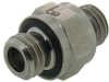 10-32 External Threaded Adaptor Fitting -- MN-1010-316 - Image
