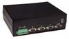 L-com DB9 A/B Switch Box w/Ethernet Control - Latching