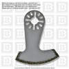 Imperial Blades Diamond Saw Blade Milwaukee Multi-Tool MM.. -- MM730-MI