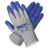 Memphis Flex Seamless Nylon Knit Gloves, Large, Blue/Gray, 1 -- 96731L