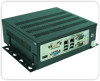 Rugged Computer with Single or Dual Hot Swap Drive Shuttles -- Model SC240S - Image