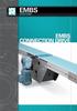 Connection Drive Mat Top Conveyor, Aluminum -- Model EMBS
