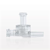 Dual Check Valve, Female Luer Lock Inlet, Tubing Port Outlet, Female Luer Lock Control Port -- 79008 -Image