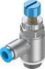 GRLA-3/8-QS-8-RS-D One-way flow control valve -- 534342