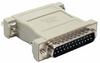DB25 M/F Null Modem Adapter -- 30D3-B2