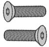 Flat Head Screws - Metric -- SM Series