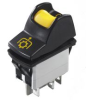 Power Locking Rocker Switch -- KL Series