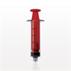Medallion® Syringe, Male Luer Lock, Red -- C1029 -Image