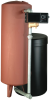 Heavy-Duty Steel Tank Water Softeners with Fleck Valves -- Steel Tank Series - Image