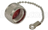 Type-N Protective Cap for Female, with Chain -- ANM-CAP01