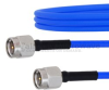 SMA Male to SMA Male Cable FM086FLEX Coax in 12 Inch and RoHS with LF Solder -- FMCA1039-12 -Image