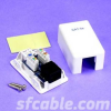 1 Port CAT5E Surface Mount Box , PCB Type -- 1019-SF-09 - Image