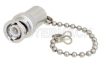 2 Watt RF Load with Chain Up to 4 GHz with BNC Male Tri-Metal Plated Brass -- PE6TR008 -Image
