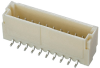 10 Pos. Male SIL Vertical SMT Conn. (T+R) -- M40-3011046R - Image