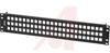 KEYCONNECT MODULAR PATCH PANEL, 72-PORT, 2U, BLACK (EMPTY) -- 70038352