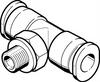 QBMT-10-32-UNF-1/8-U Push-in T-fitting -- 533304 -Image