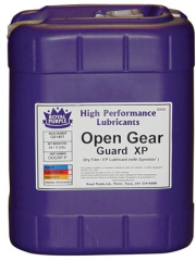 Open Gear Guard XP for the  lubrication of open gears and chains subjected to heavy loads in dusty or dirty environments.
