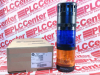 ALLEN BRADLEY 855TC-B10Y5Y6A1 ( STACK LIGHT, AMBER/BLUE, STEADY LED,SINGLE TONE, 120V ) - Image