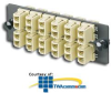 Panduit® Fiber Adapter Panel -- FAP12WEIDLC