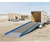 BLUFF Portable Steel Yard Ramps for Forklifts -- 7554202