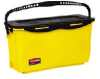 Rubbermaid Microfiber Charging Bucket - yellow -- RM-Q950