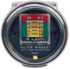 Graduated Air Filter Indicator Dash Mount -- 168501 - Image