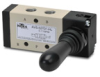 VALVE 1/8in NPT Cv=0.78 TOGGLE STYLE ACTUATOR 5-PORT 2-POS -- AVS-527D1-HL - Image