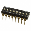 DIP Switches -- JS0108AP4-ND -Image