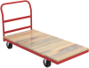 Medium- and Heavy-Duty Hardwood Platform Trucks