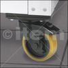 Castor D125 swivel with double-break N heavy duty -- 0.0.492.18 -- View Larger Image