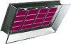 High Intensity Gas Infrared Heaters - AK-4 Series