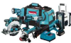 MAKITA 18 V LXT Lithium Ion 7 Piece Combo Kit -- Model# LXT702