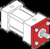 Series H Heavy Duty Hydraulic Cylinder - Key Mount -- Key Mount - Image