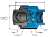 DFT® SCV® Threaded In-Line Check Valves