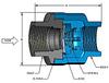 Threaded In-Line Check Valves -- DFT® SCV® - Image