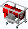 Comfort Air Heater - Forced Air - Rental Grade Portable Blower Heater -- SDRA-RG -Image