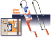 Urinal Auger - Professional Drain Cleaner -- TU4