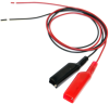 Alligator Clip to Lead Only, 22 AWG PVC Test Lead -- 293 -Image