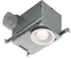 Recessed Fan,Fluorescent Light,110 V -- 744FL