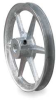 V-Belt Pulley,8 In OD,1 In Bore,1GRV -- 3X929