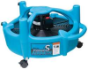 Portable Fan,2 Speed,115 V,5500 CFM,Blue -- F377