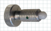 Hand-Retractable Delrin® Plunger with Knurled Head - Image