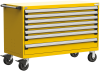 Heavy-Duty Mobile Cabinet, with Partitions -- R5BJE-3011 -Image