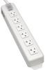 Power It! 6-Outlet Power Strip, 15-ft. Cord, 5-20P Plug, Metal Housing -- TLM615NC20