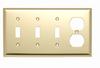 Combination Openings, 3 Toggle Switch & 1 Duplex -- SB38PB - Image