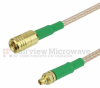 MMCX Plug to SMB Plug Cable RG-316 Coax in 48 Inch and RoHS -- FMC0916315LF-48 -Image