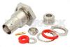 BNC Female Bulkhead Connector Clamp/Solder Attachment For RG58, RG55, RG141, RG142, RG223, RG400, .480 inch D Hole -- PE4078 -Image