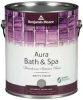 Interior Paint,Bath Spa Matte,1 gal,Pens -- 6RZU9
