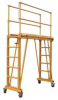 Work Platform,L 77 In,Adj Ht 9-18 ft -- 10H719