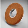 3M Scotch-Brite CP-WL Aluminum Oxide Medium Deburring Wheel - Coarse Grade - Arbor Attachment - 8 in Diameter - 3 in Center Hole - Thickness 25 in - 13486 -- 048011-13486 - Image